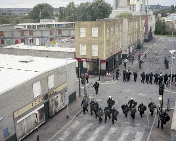 Behind The Scenes At The Metropolitan Police Riot Training Centre